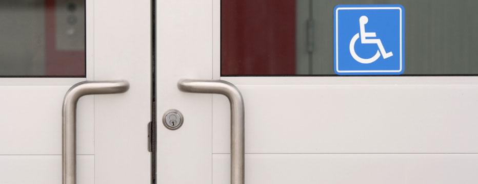 Handicap Door Repair Ada Push Button Opener Installation