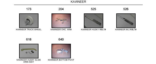 Kawneer door replacement part catalog 1